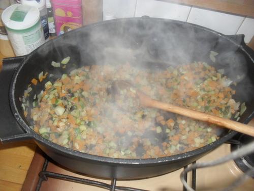 Des lasagnes aux petits légumes  comme des lasagnes bolognaise (mais pour les végétarien^^)