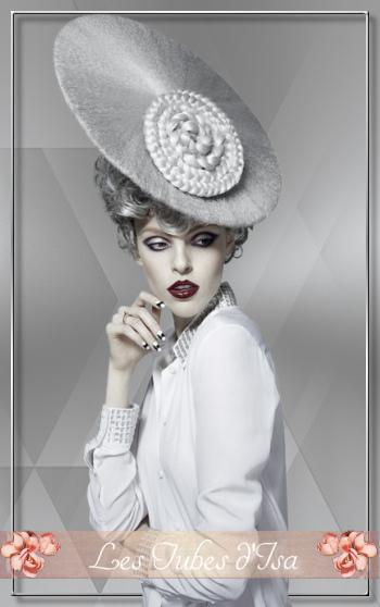 FAC0016 - Tube femme chapeau