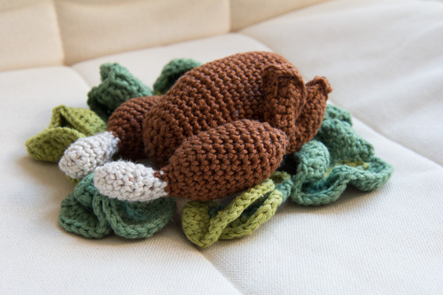 Mylène - Crochet : Un poulet roti