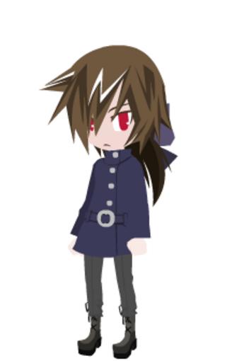 Présentation de mes personnages manga #3: Le garçon
