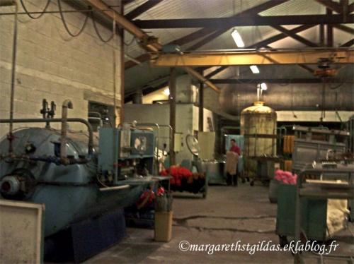 Visite d'une filature en Creuse