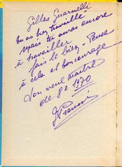 Péle-méle souvenir de Gilles