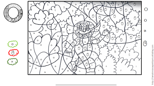 Un abécédaire en coloriage magique (partie 2)