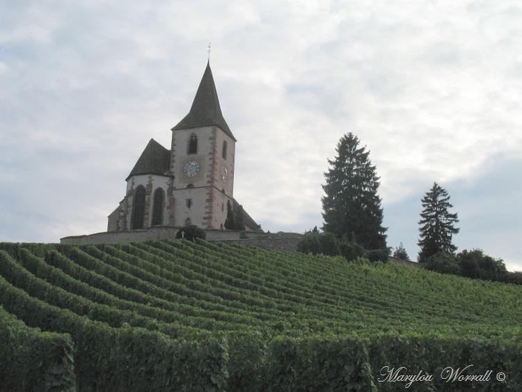 Hunawihr 68 : Église fortifiée