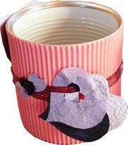 """Résultat de recherche d'images pour """"décorer une boite de conserve en pot à crayon"""""""
