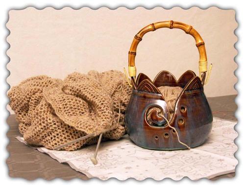 Yarn bowl ou bol à laine
