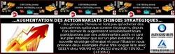 CHINE: augmentation des actionnariats stratégiques.