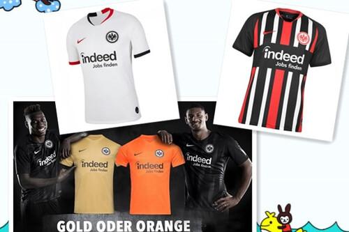 Acheter maillot Eintracht Frankfurt 2019-2020