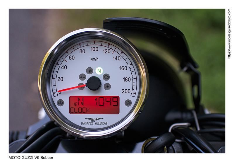 1000 premiers km en MOTO GUZZI V9 Bobber
