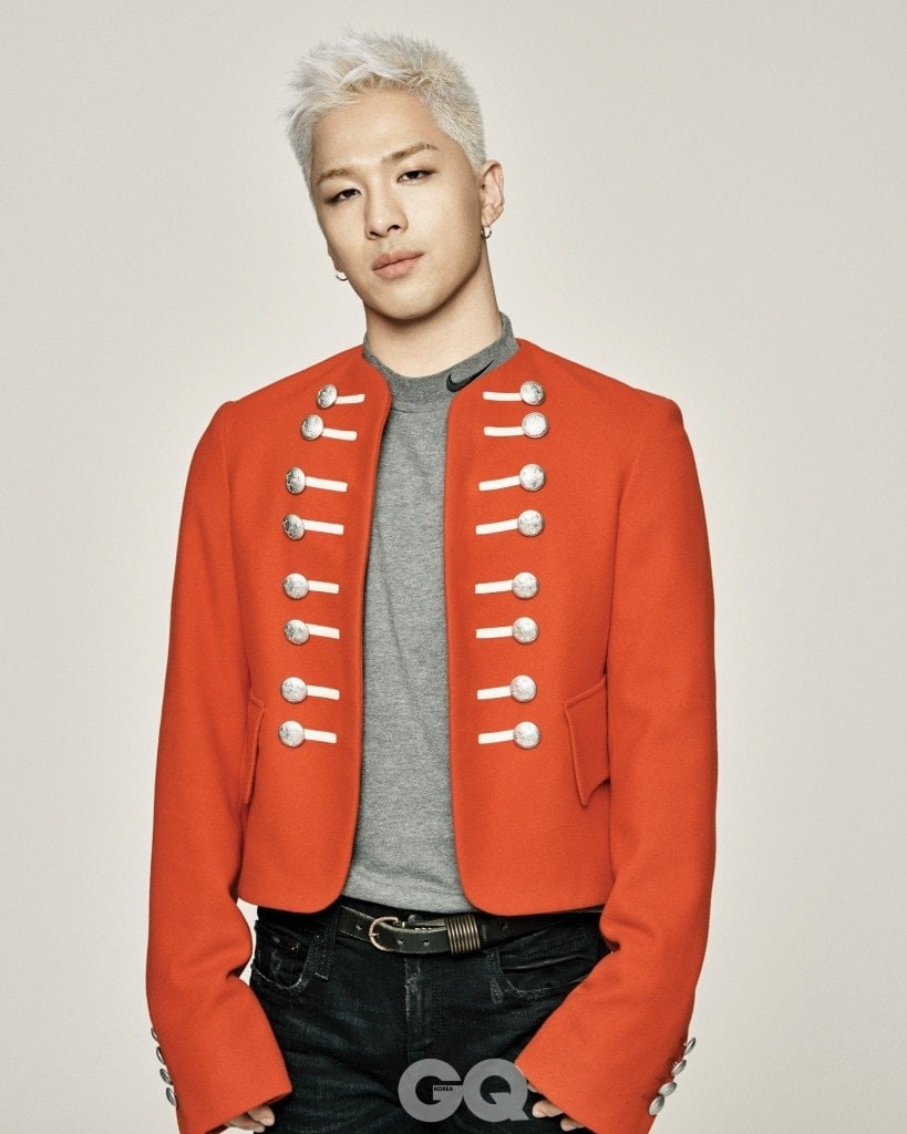 Taeyang pour le magazine GQ Korea (12/2017)