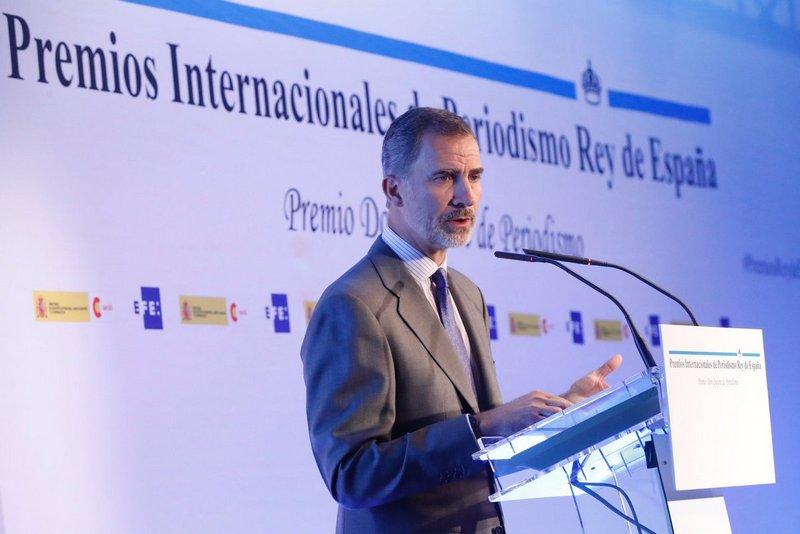 """Premios Internacionales de Periodismo """"Rey de España"""""""