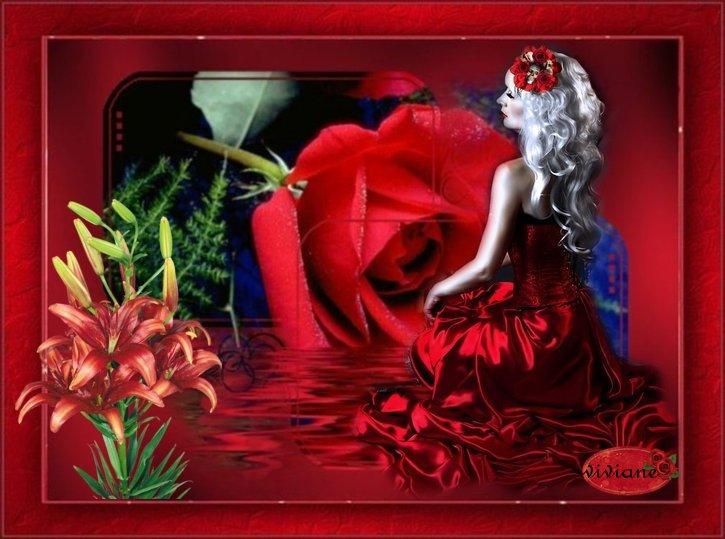 Fantésie en rouge