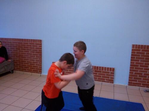 Jeux d'opposition avec Frédéric