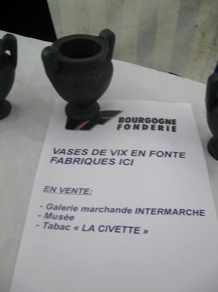 Une visite à la fonderie de Châtillon sur Seine...