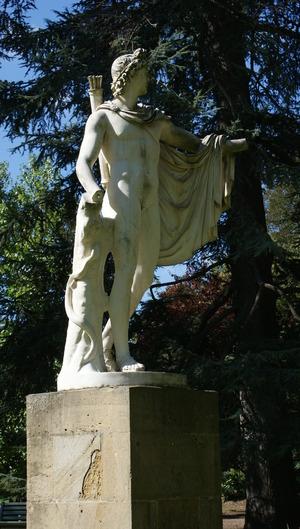 Jardin des Plantes: les Statues