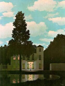 René Magritte - L'Empire des lumières 2