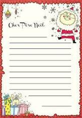 La lettre au Père Noël des élèves du CPA
