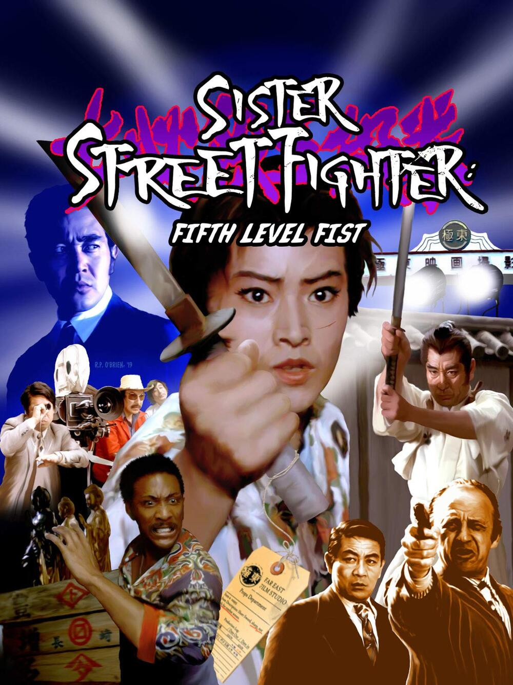 Onna Hissatsu Godan Ken / Sister Street Fighter: Fifth Level Fist (1976)