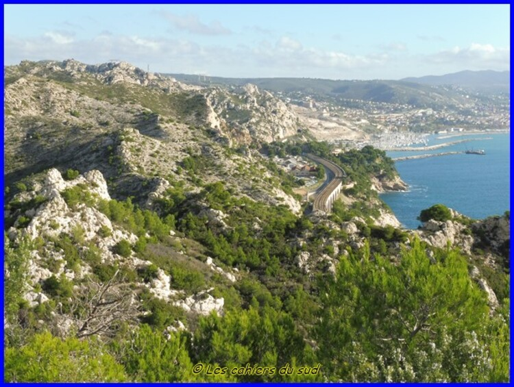La balade décembre : La calanque de Figuerolles, côte bleue.