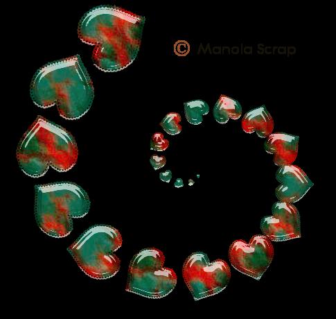 Swirls coeur 2
