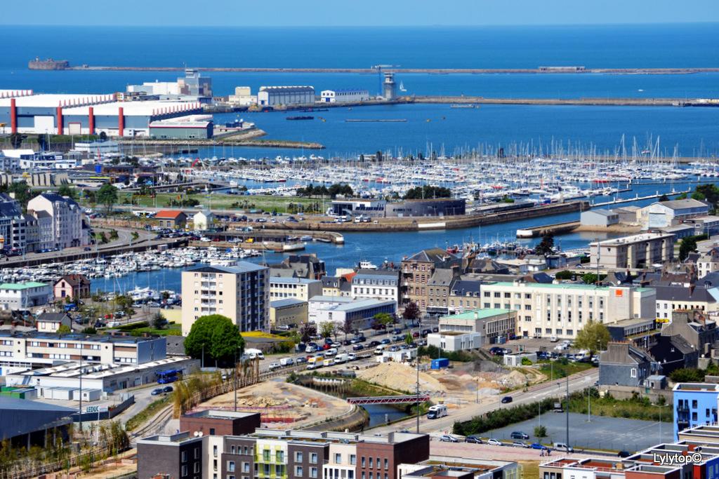 Les forts de la rade de Cherbourg.