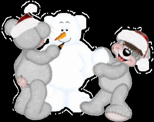 Tubes creddy bears Noël