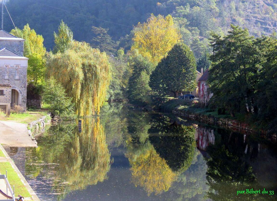 Reflets dans le Tarn