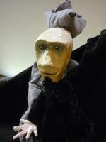 marionnette à gaine en plâtre
