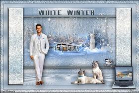 * Tout était blanc ... *