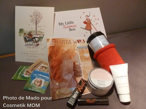 My Little Box Novembre ~ Direct Live Les Spoils