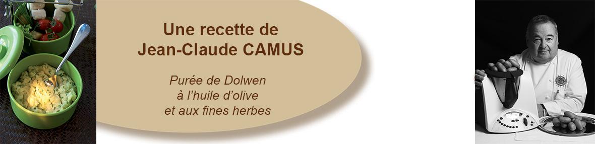 Purée de Dolwen à l'huile d'olive et aux fines herbes