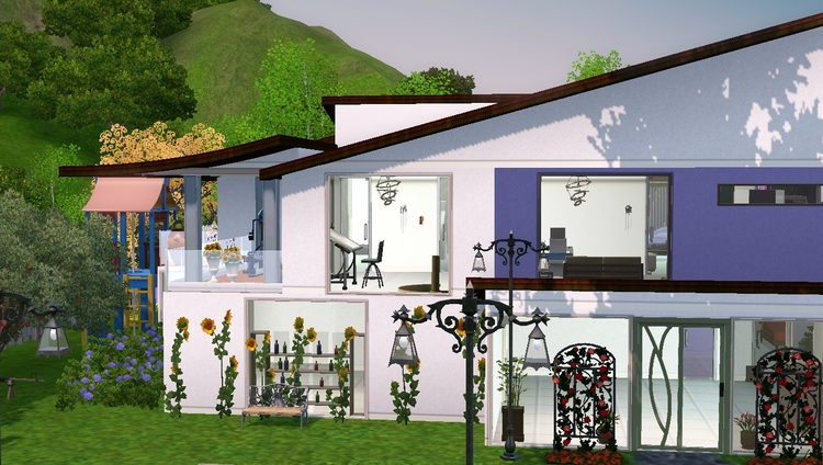 Sims 3 : la Maison de la famille Omaba
