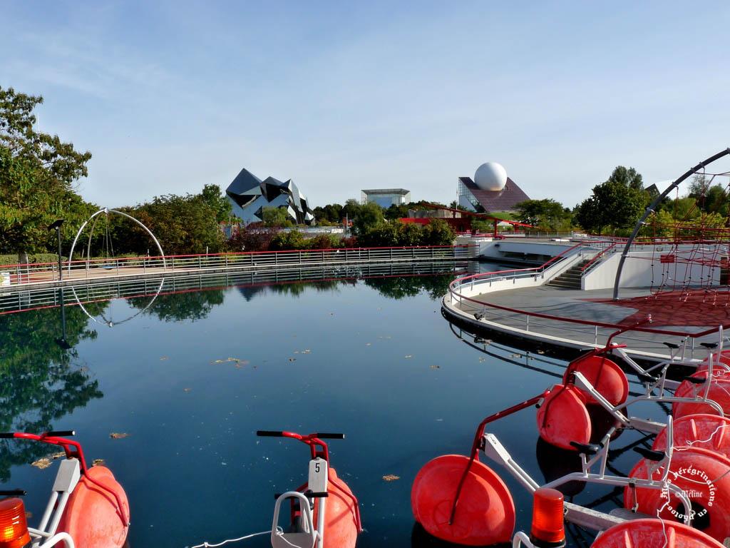 Visite du Parc du Futuroscope (4) Mes vacances avec mon amie Noisette en septembre 2012 !