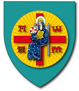 Blason Notre-Dame des Vœux et des Tables de la Loi