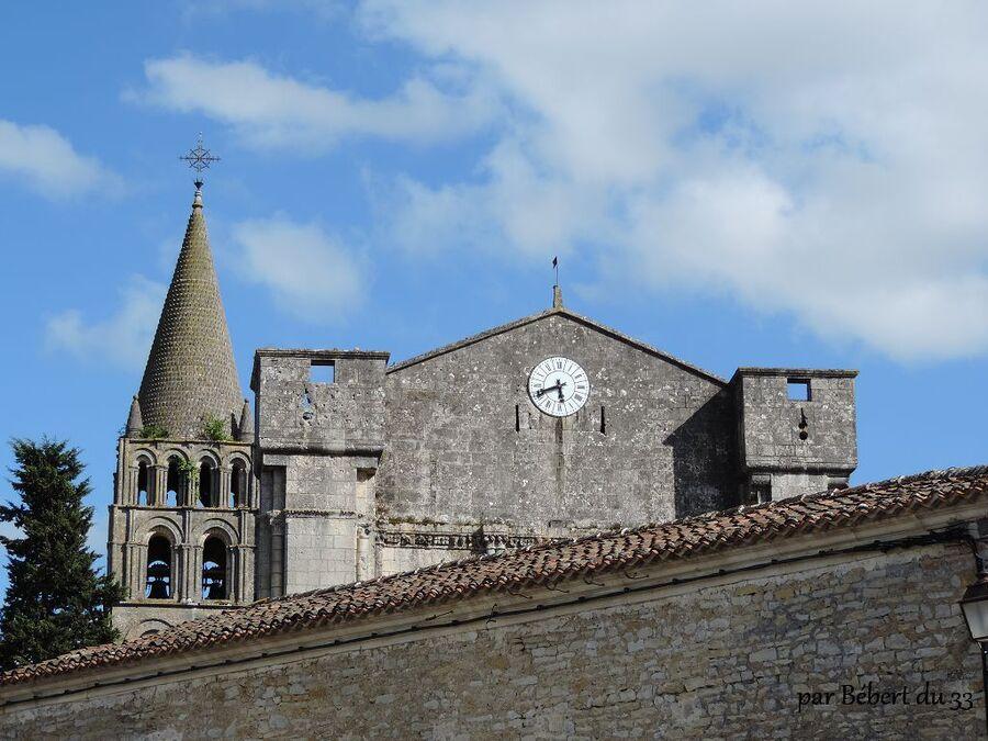 l'abbaye Saint Etienne de Bassac dept 16
