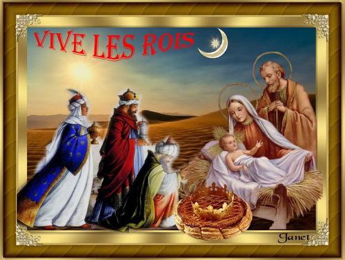 """Vos très belles créations """"Vive le Roi"""""""
