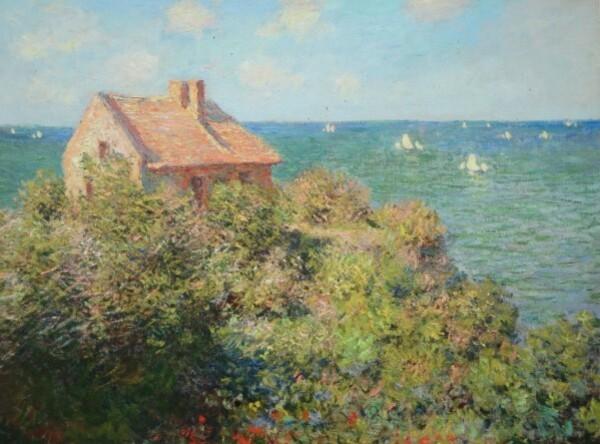 Monet, la maison du pêcheur