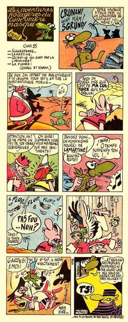 1- Le Concombre masqué
