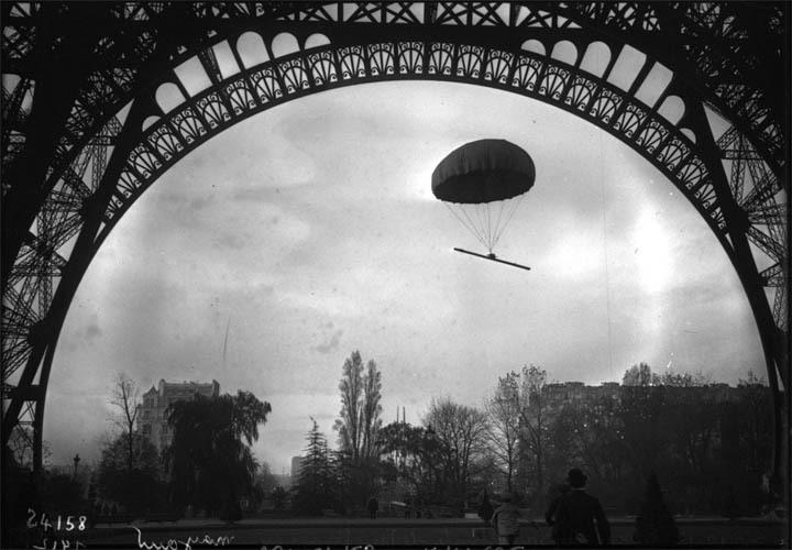 Parachute de M. Mayoux