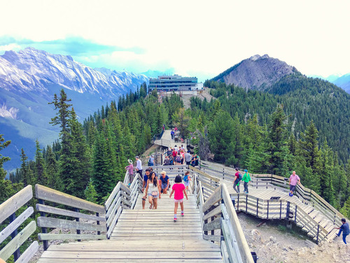 BANFF. Summer Walk (Alberta)  (Voyages)