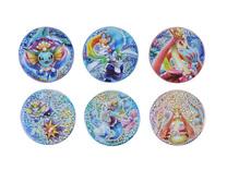 Badges à pailettes : Aquali (+Staross), Milobellus (+ Serpang) et Oratoria (+ Viskuse)