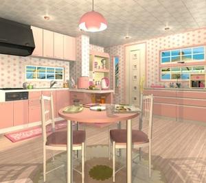 Jouer à Fruit kitchens 5 - Peach pink