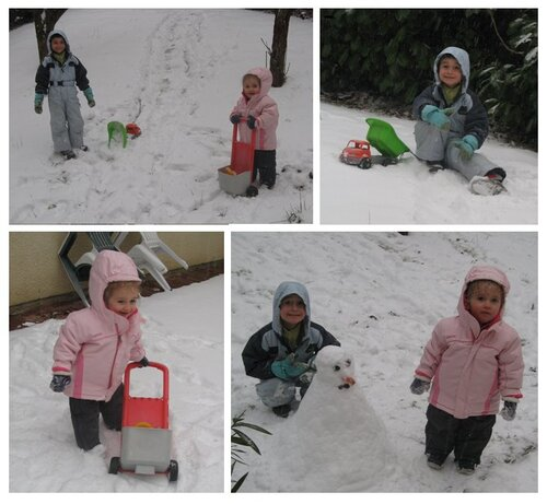 Neige at home!