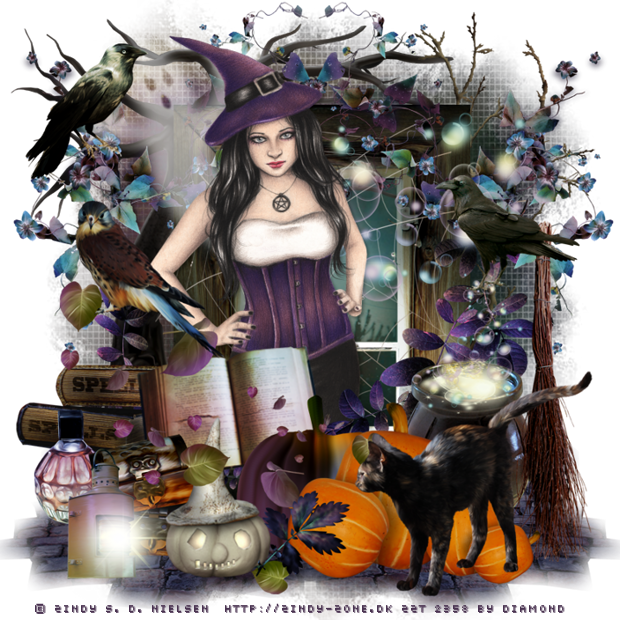 "Tutoriel ""Halloween4"" de TutStation's By Callie"