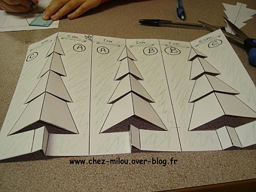 sapin en carton 8