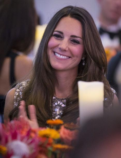 Kate à la soirée des prix  Tusk