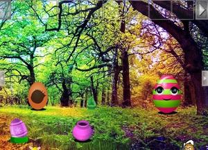 Jouer à Fantasy easter egg forest escape