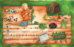 Jardin pour les GS