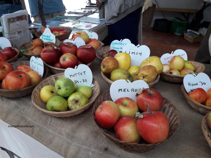 Vive les pommes!