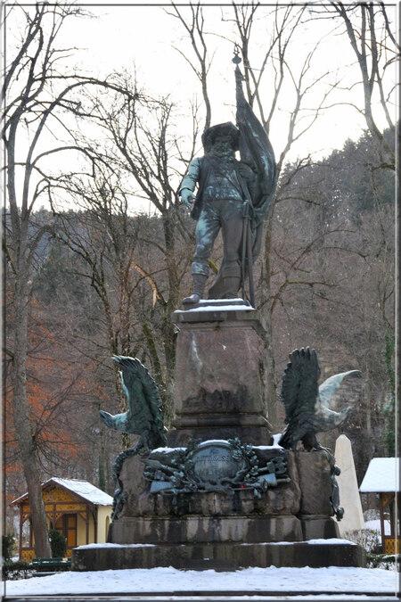 Innsbruck : la statue d'Andreas Hofer